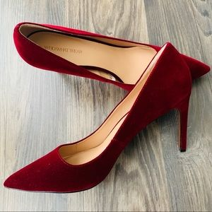 Who What Wear NWOT Velvet Suede Pumps / Heels